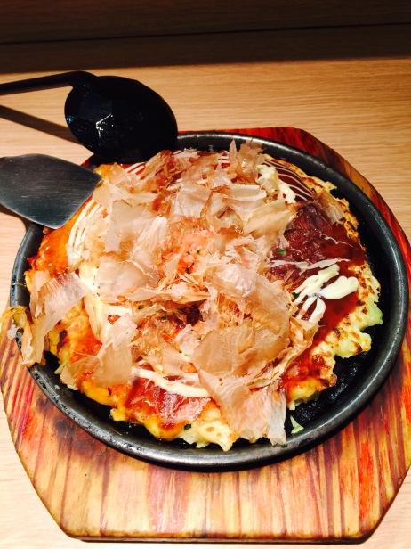 Okonomiyaki / Hélène chez Aki